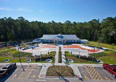 Midway Park Community Center with Splash Park